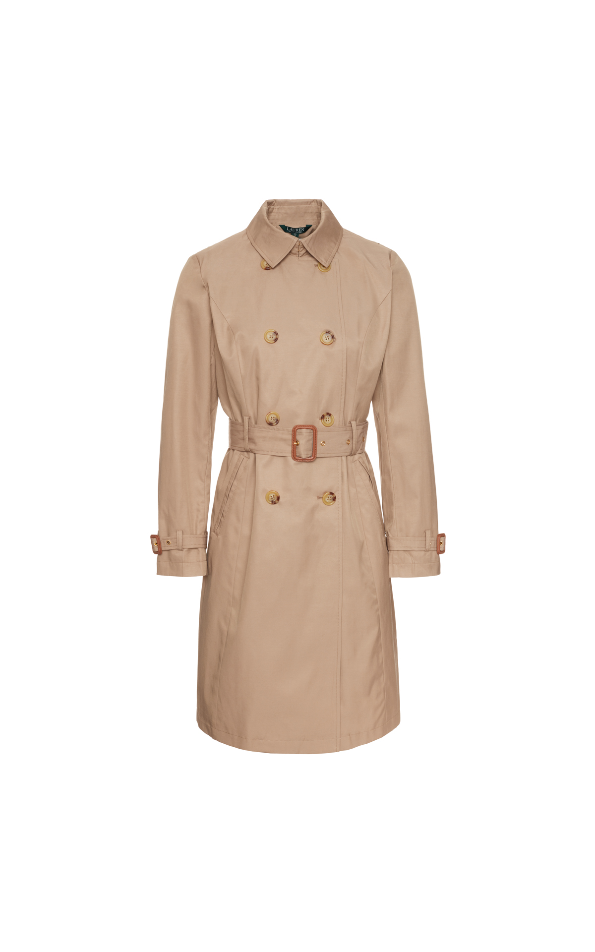 Polo Ralph Lauren Women's Long Trench at The Bicester Village Shopping Collection