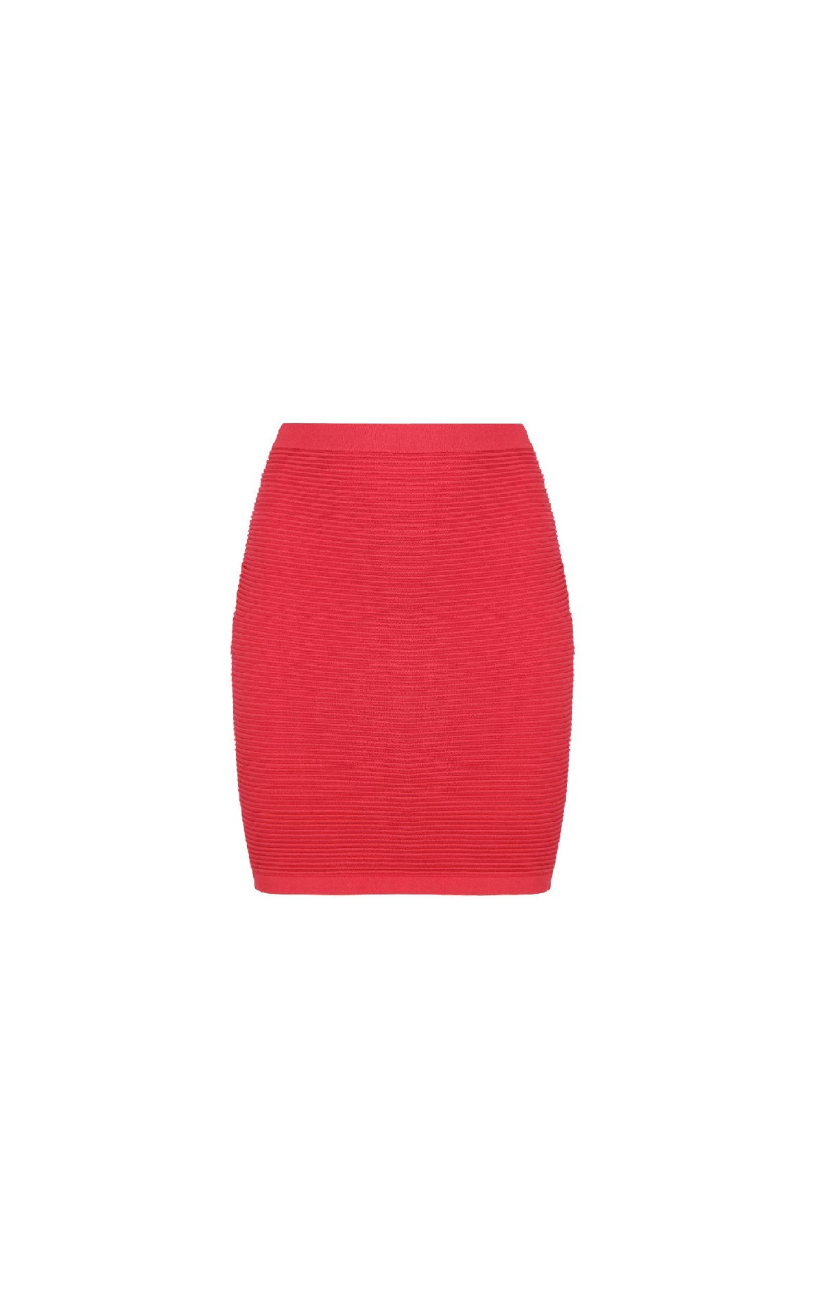 Red short skirt Armani