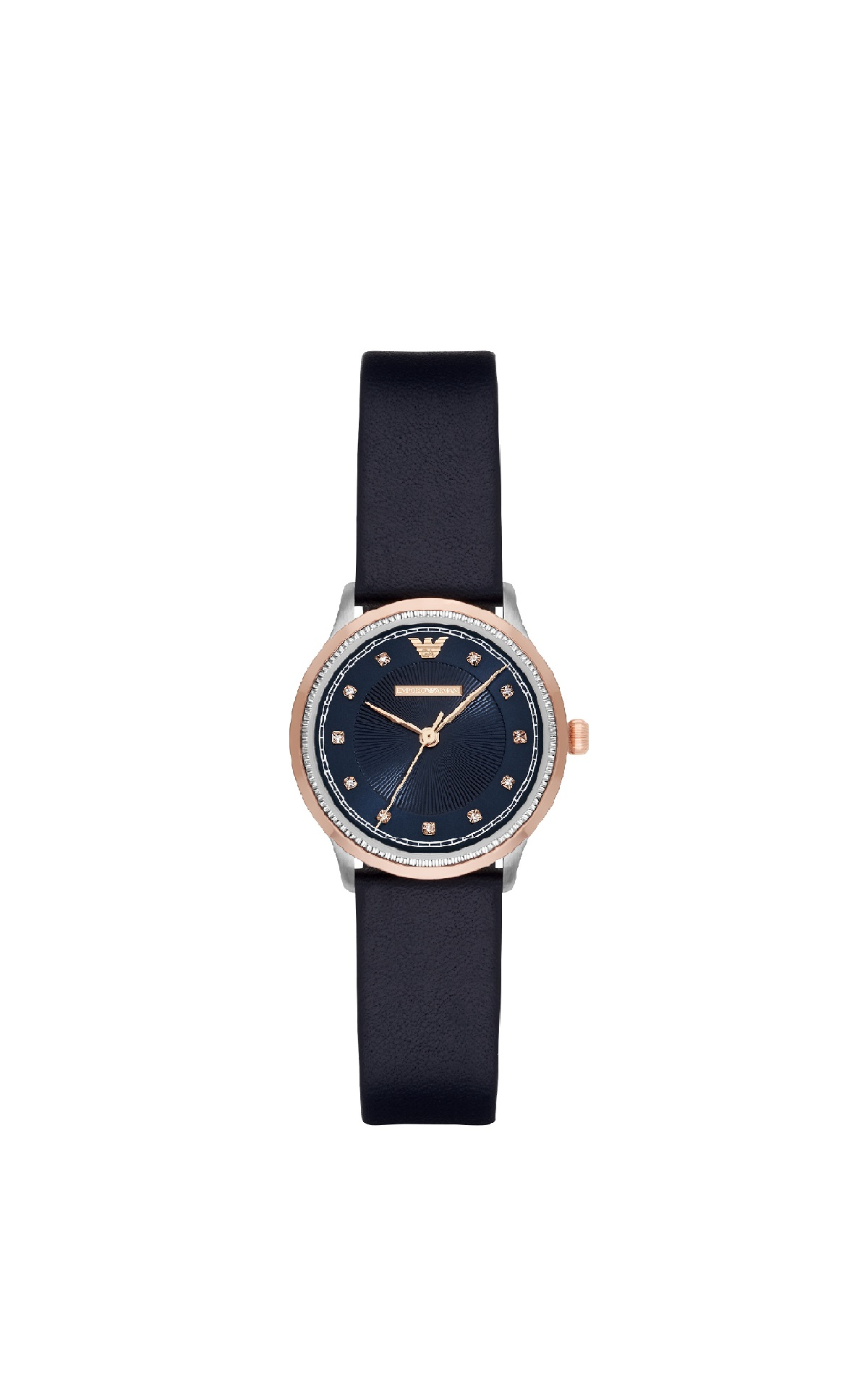Navy blue watch Armani