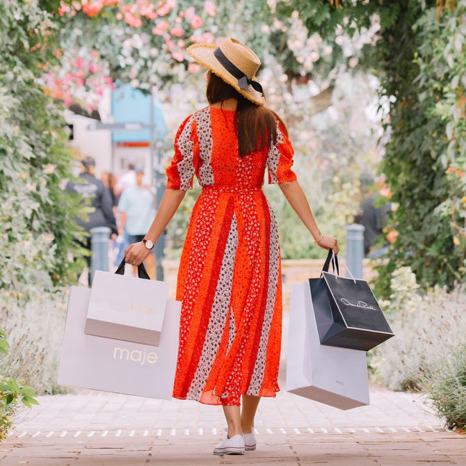 Bicester Village shopping experience January 2020