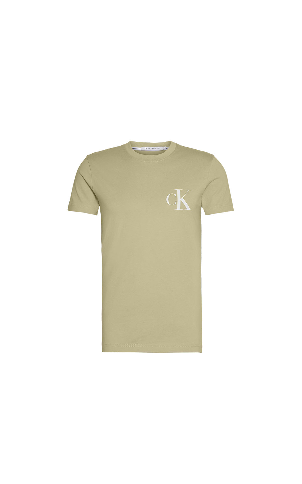 Men's calvin klein eo inst back slim tee at The Bicester Village Shopping Collection