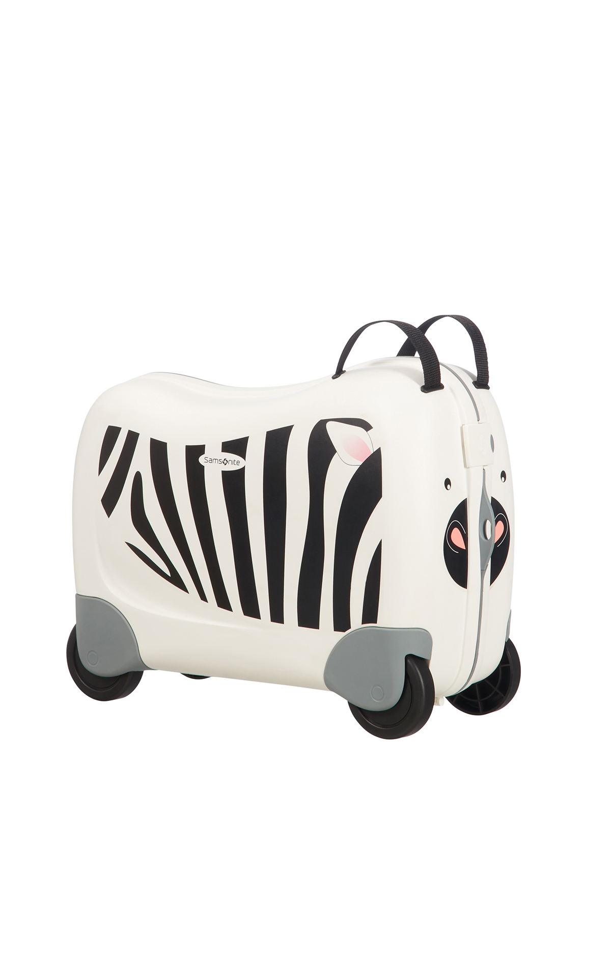 Samsonite child zebra zeno suitcase La Vallée Village
