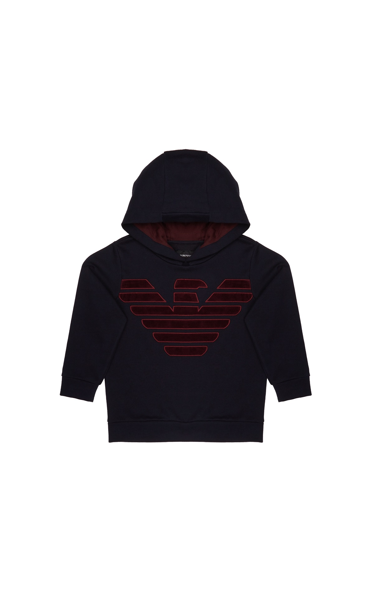 Dark blue hoodie children Armani