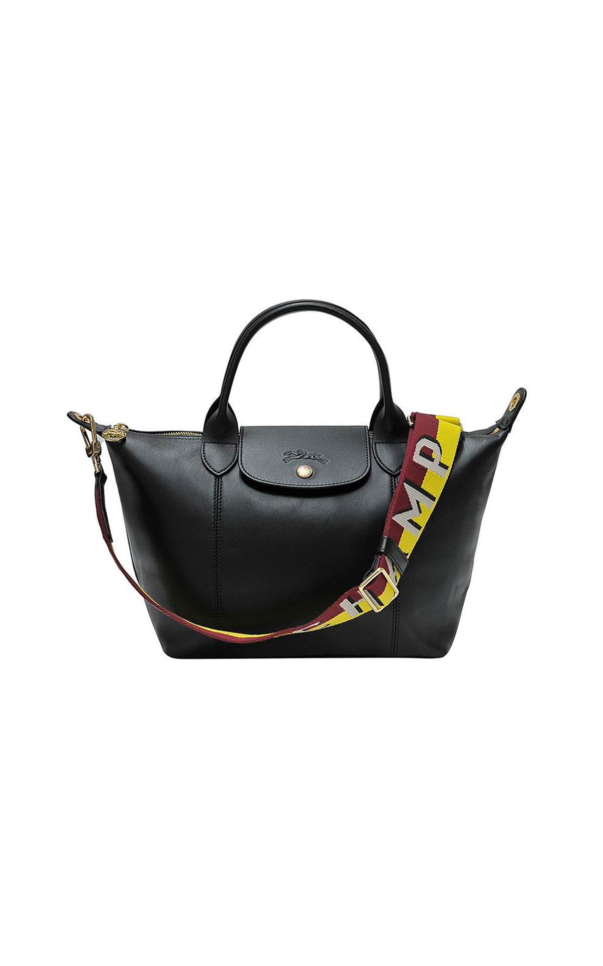 Black leather bag Longchamp