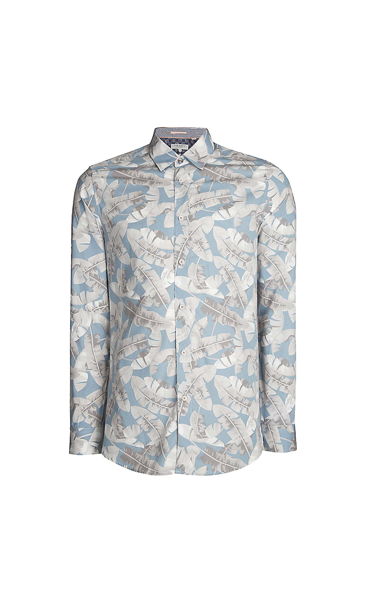 Blue printed shirt Ted Baker