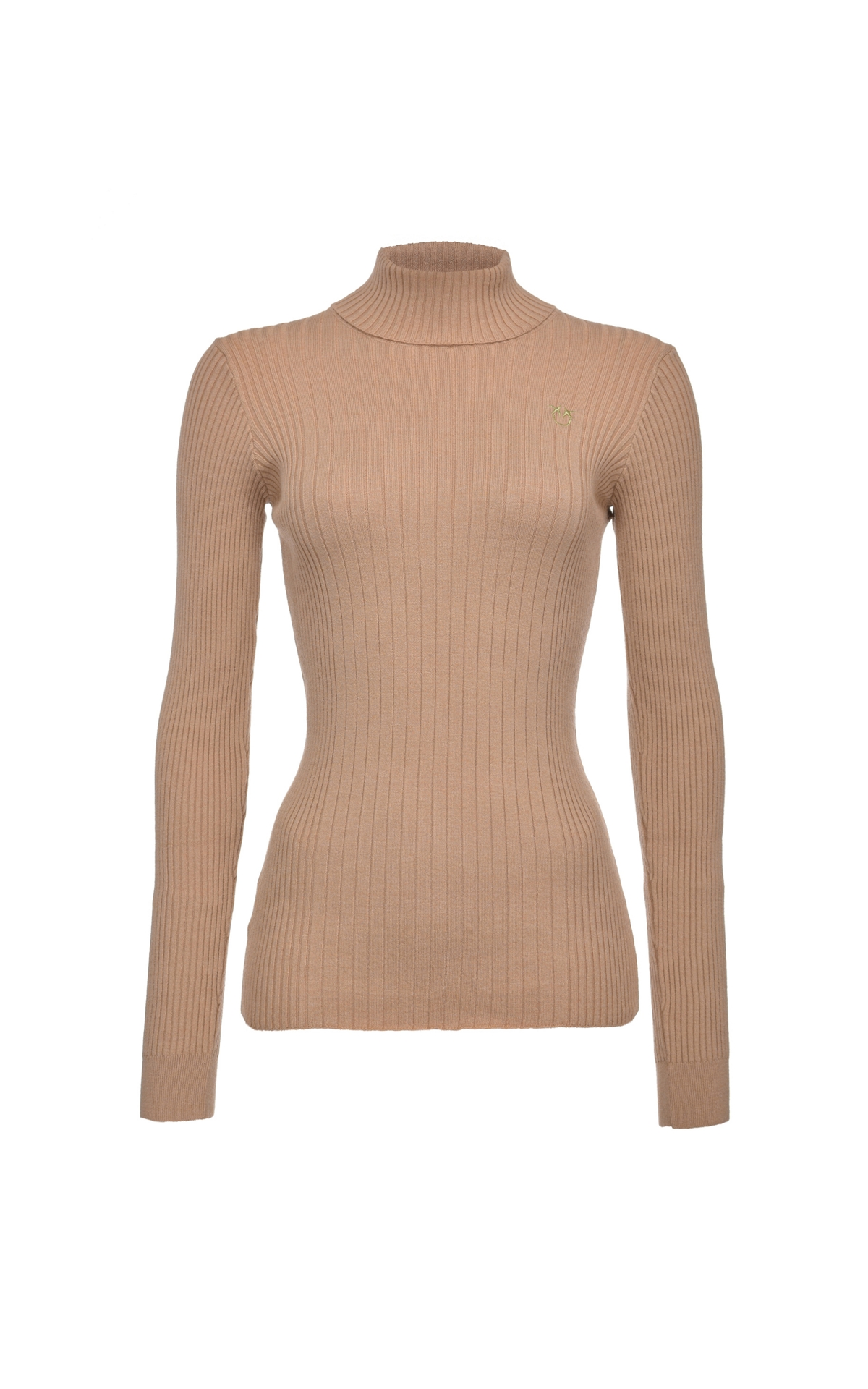 Brown turtle neck sweater Pinko