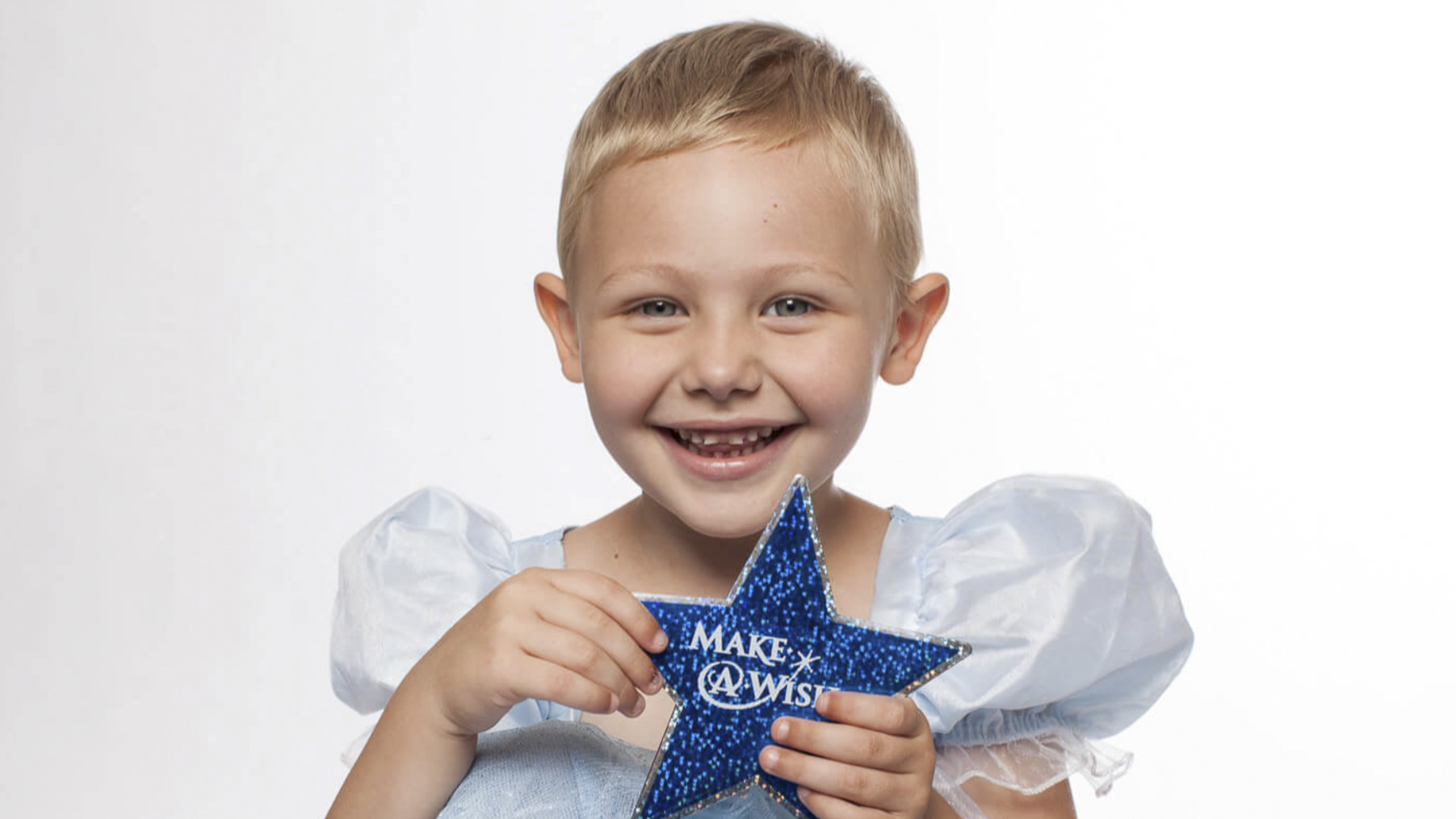 Blonde girl with a star from Make A Wish