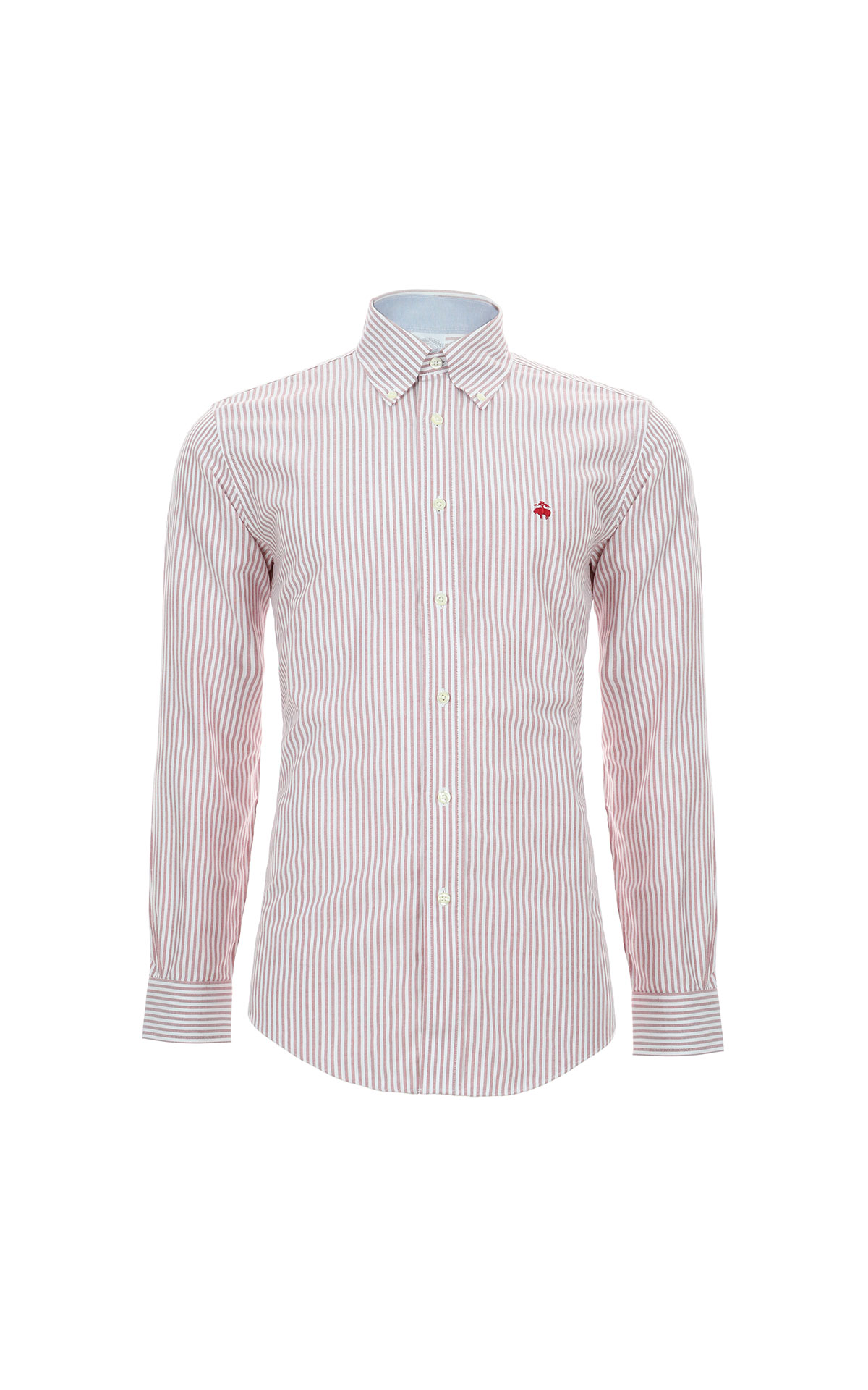 Red striped shirt Brooks Brothers