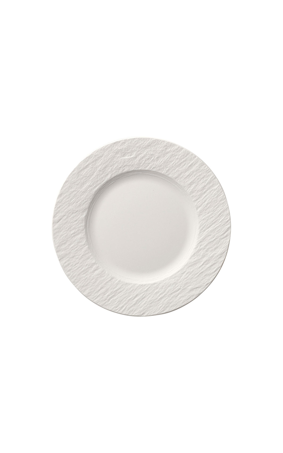 Villeroy and Boch Manufacture blanc salad plate 22cm from Bicester Village