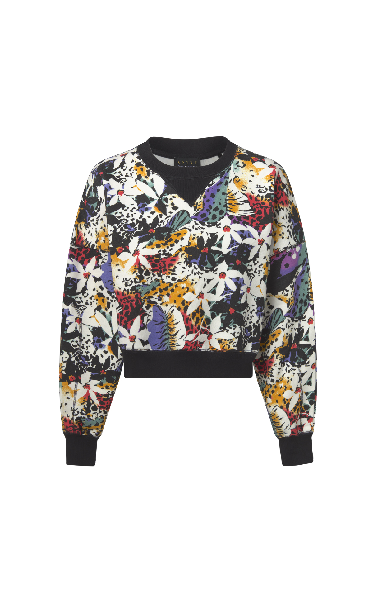 Colorful sweatshirt woman The Kooples
