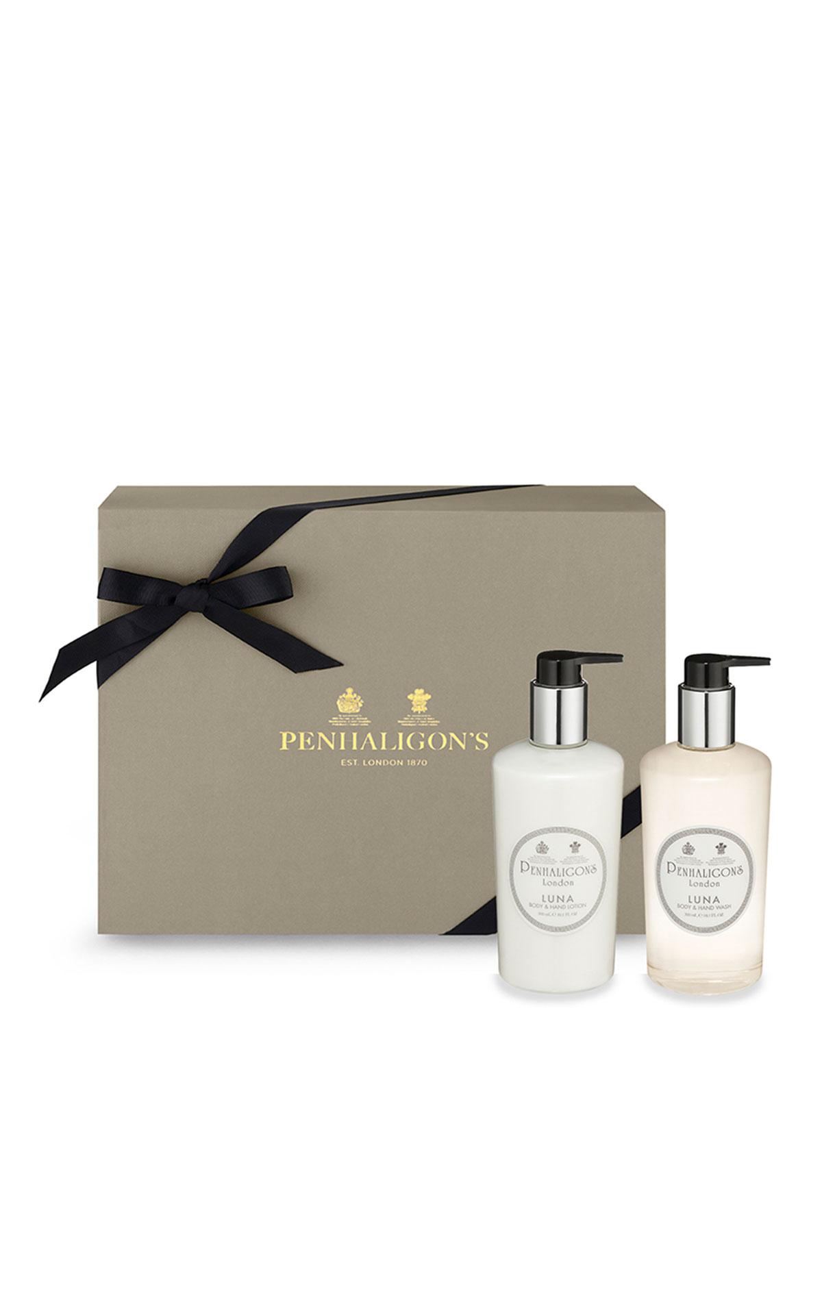 Penhaligon's Luna hand and body wash and hand and body Lotion from Bicester Village