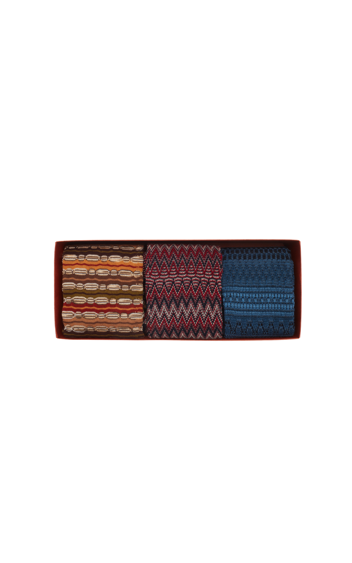 Missoni 3-piece knee high sock set from Bicester Village