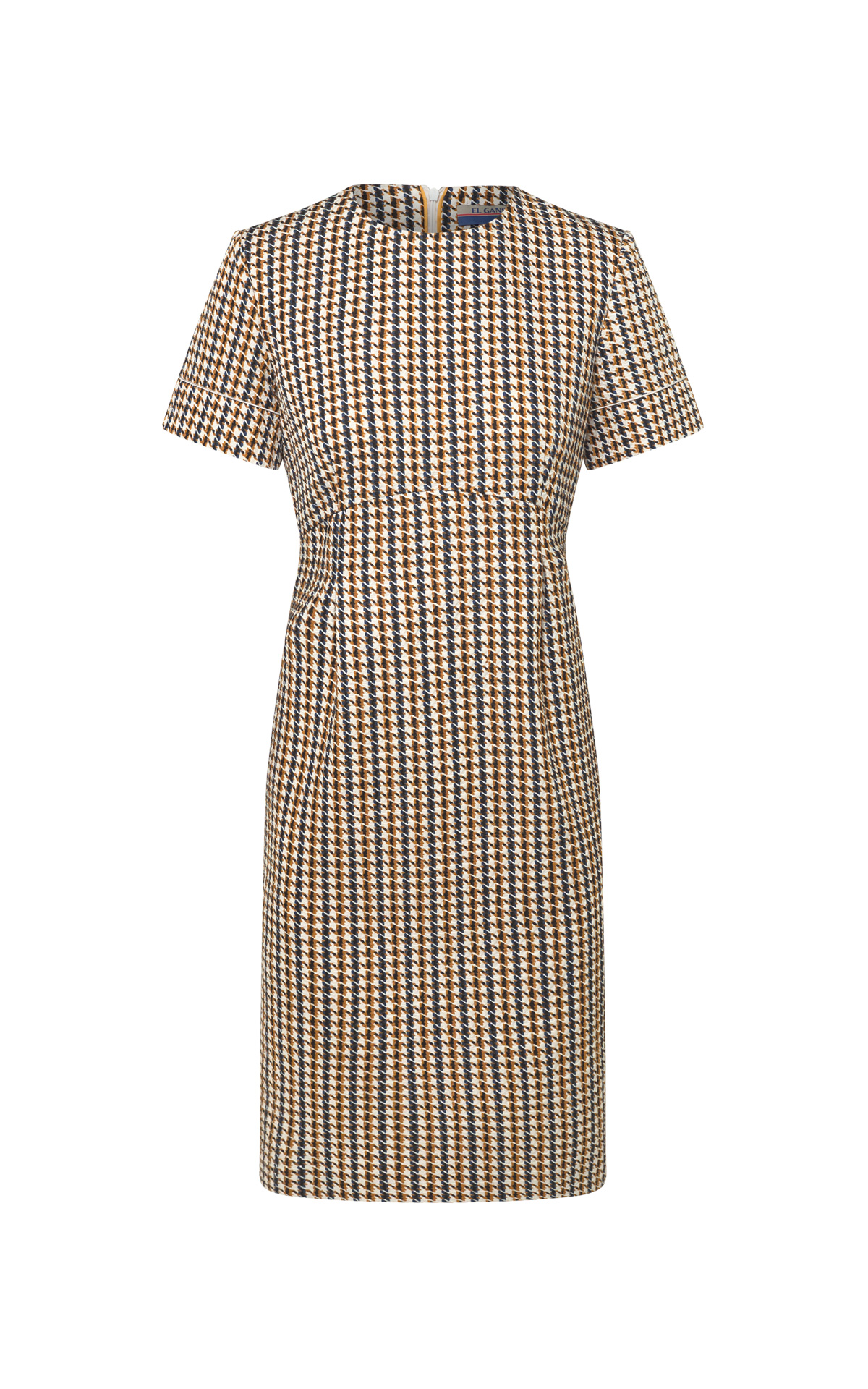 Houndstooth dress from El Ganso