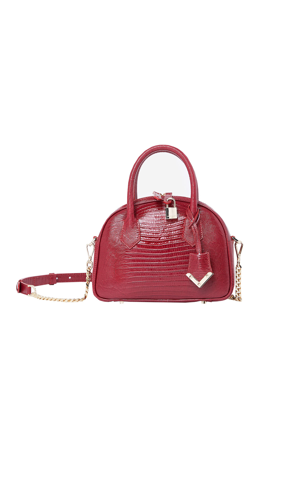 Red Irina bag The Kooples