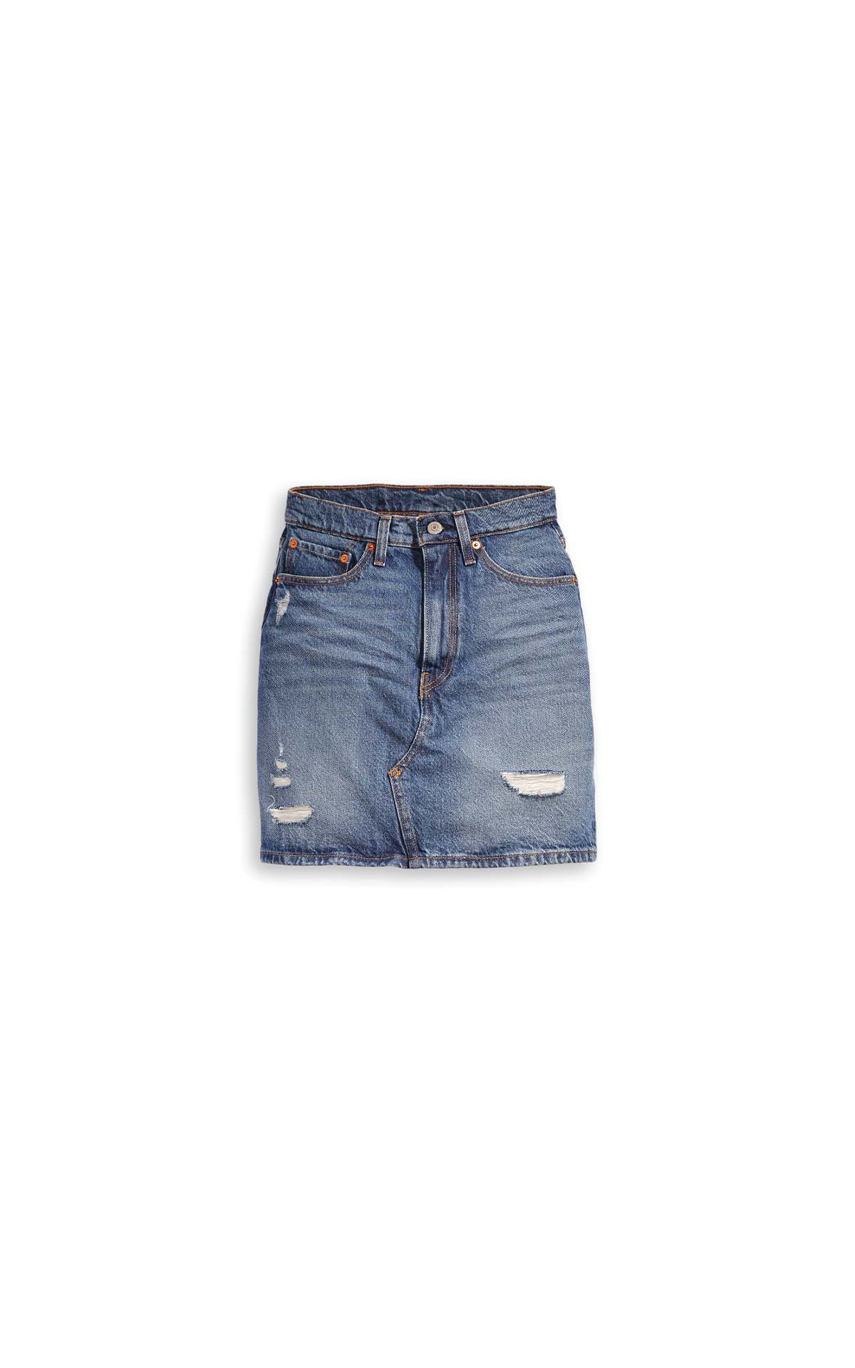 Levi's HR decon iconic skirt middle avenue at The Bicester Village Shopping Collection