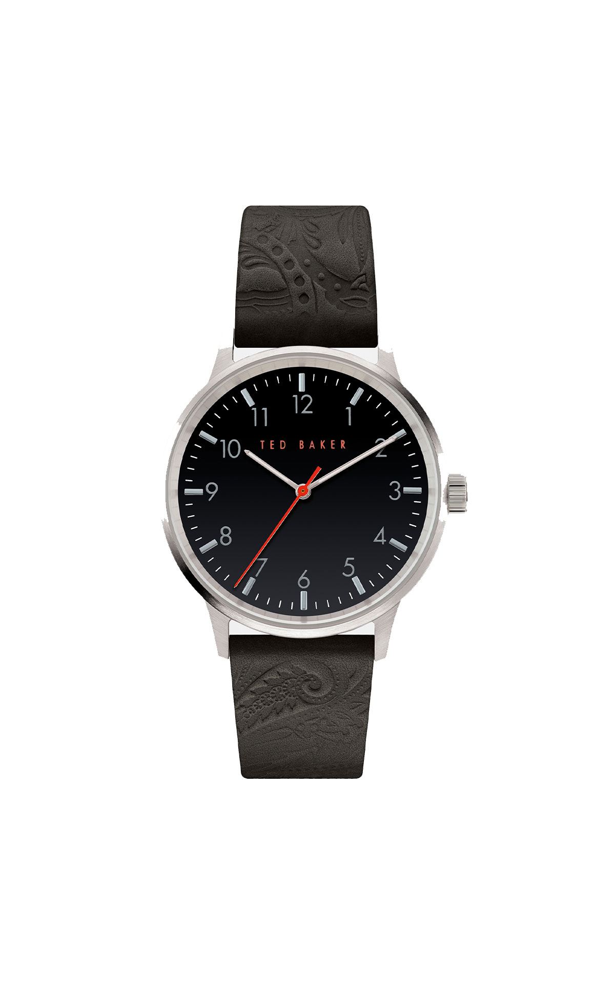Ted Baker Cosmoo embossed leather watch from Bicester Village