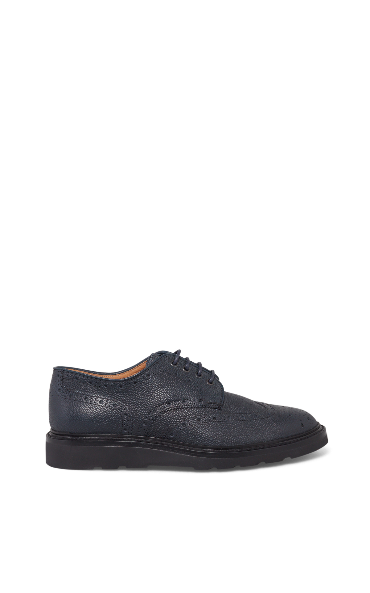 Navy Cox derby shoes*