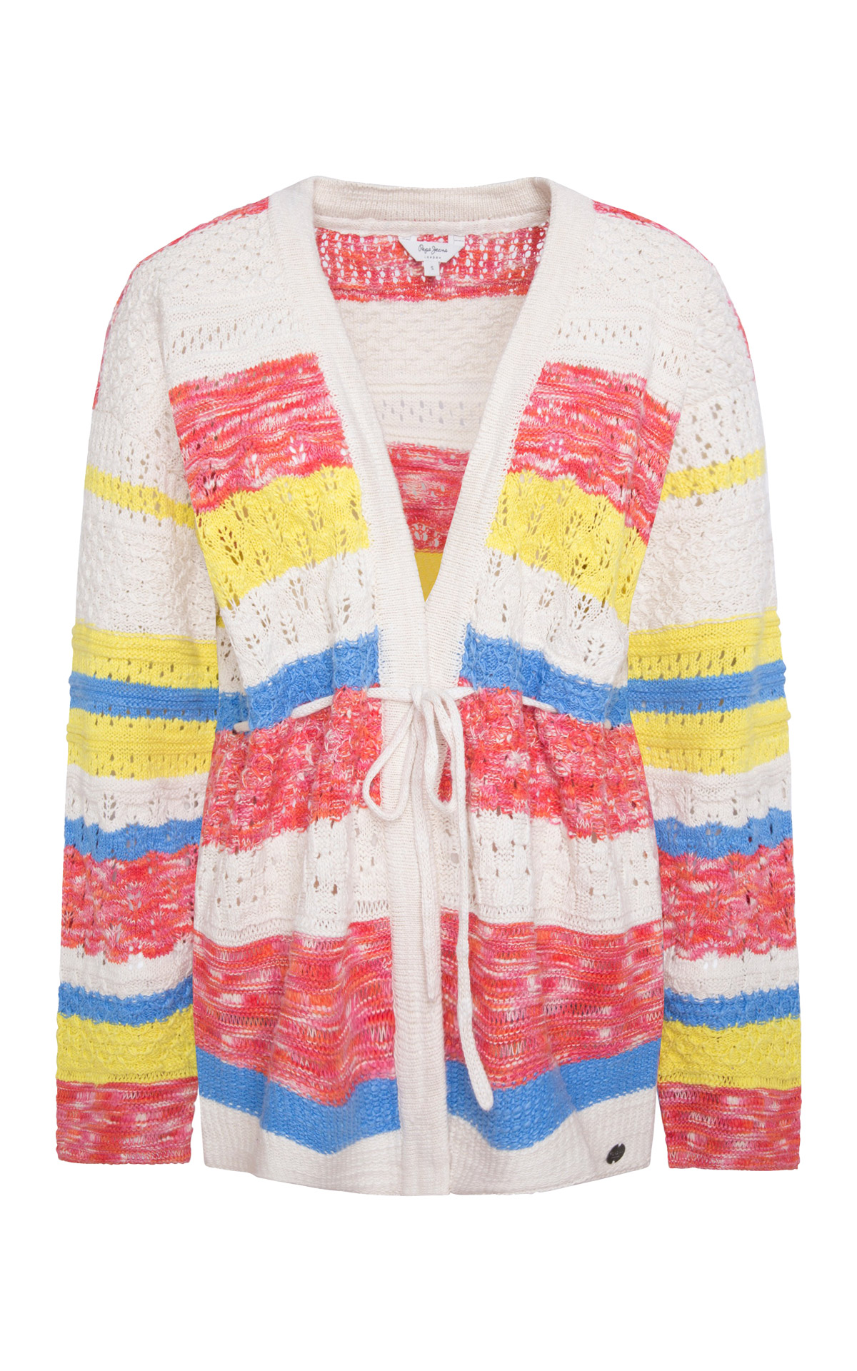 Striped cardigan Pepe Jeans