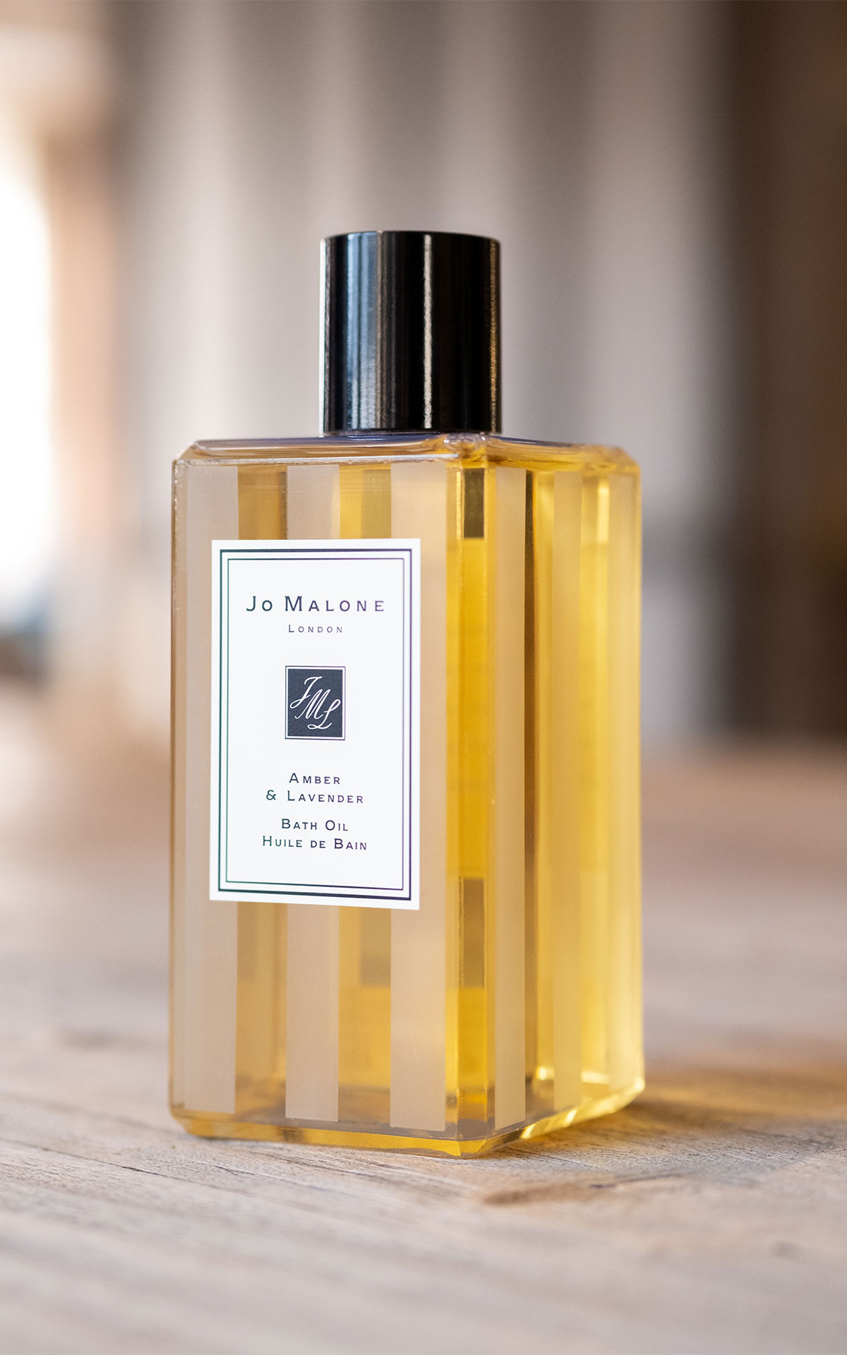 Jo Malone London Amber and lavender bath oil from Bicester Village