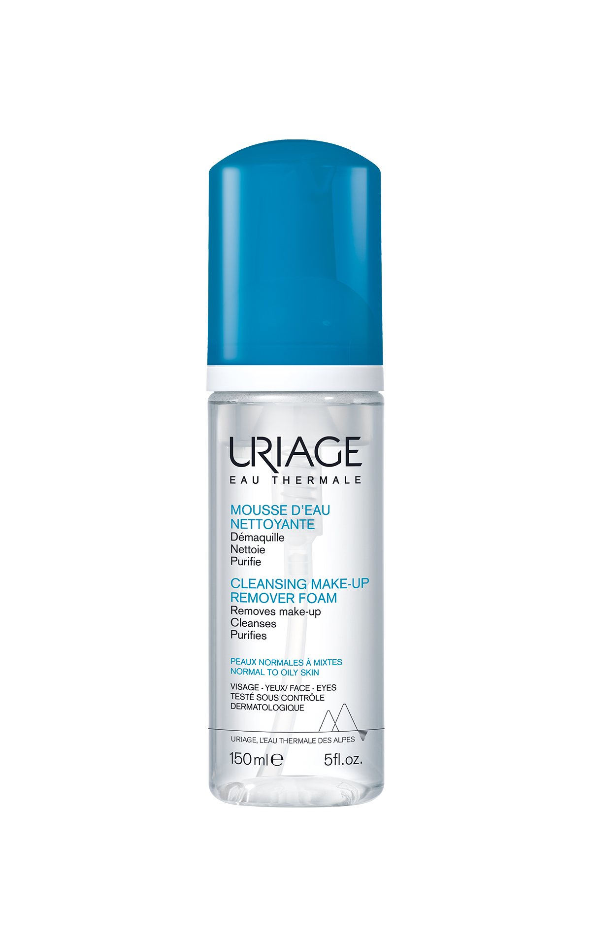 Cleansing make-up remover foam Uriage Inspira