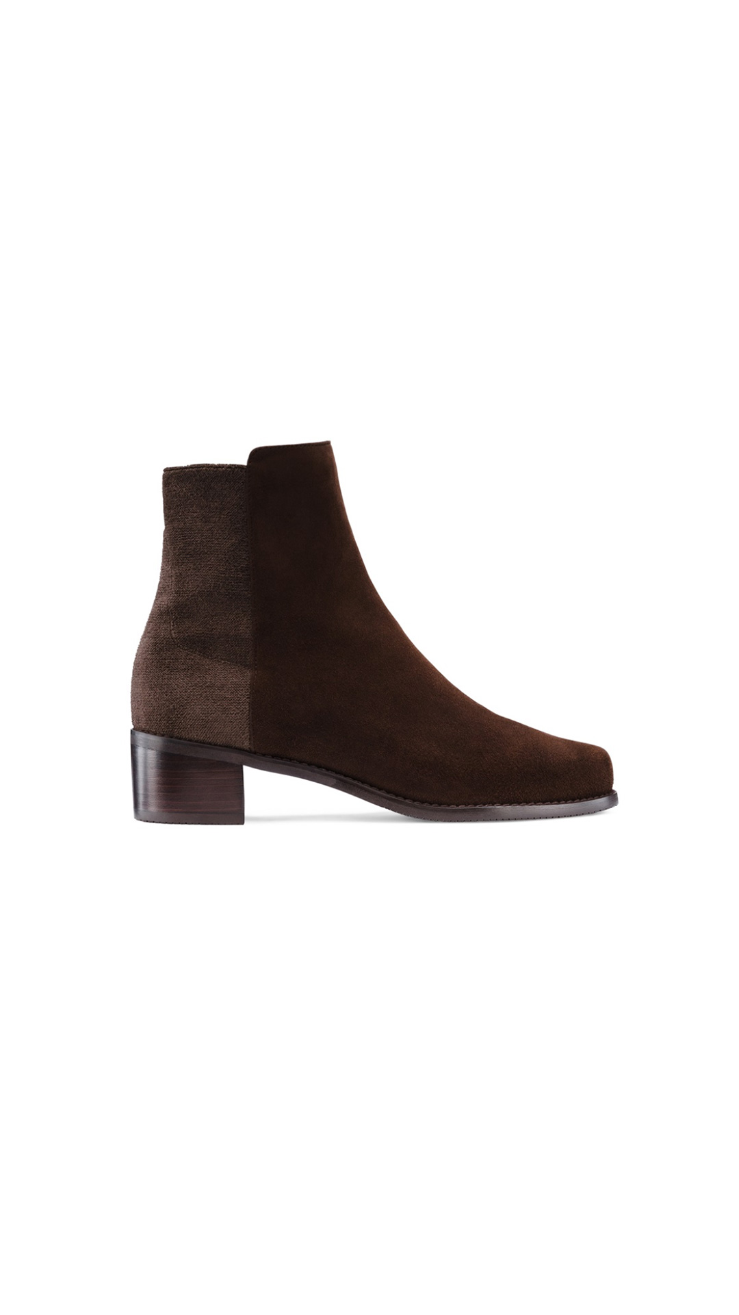 Stuart Weitzman easyon reserve walnut boots at The Bicester Village Shopping Collection
