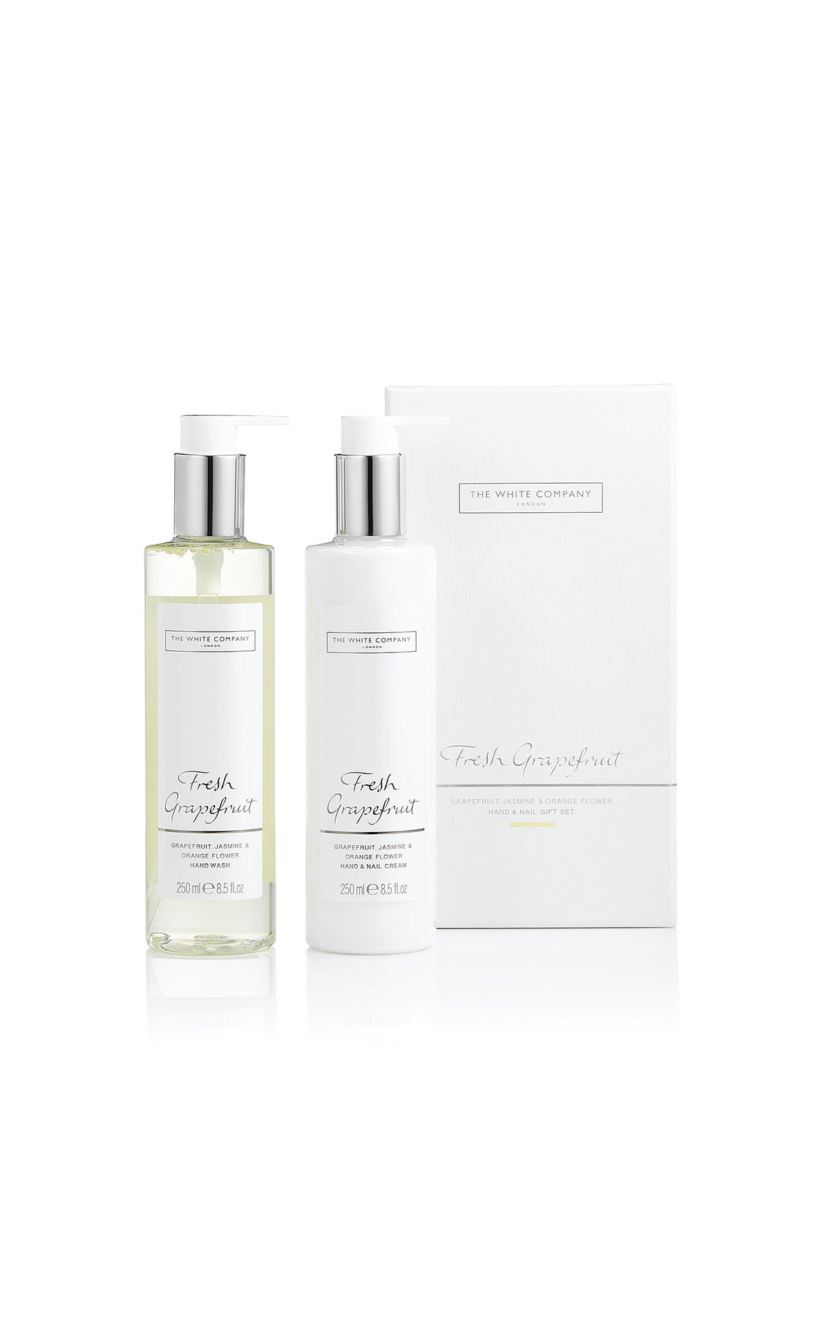 The White Company Fresh grapefruit hand & nail set from Bicester Village