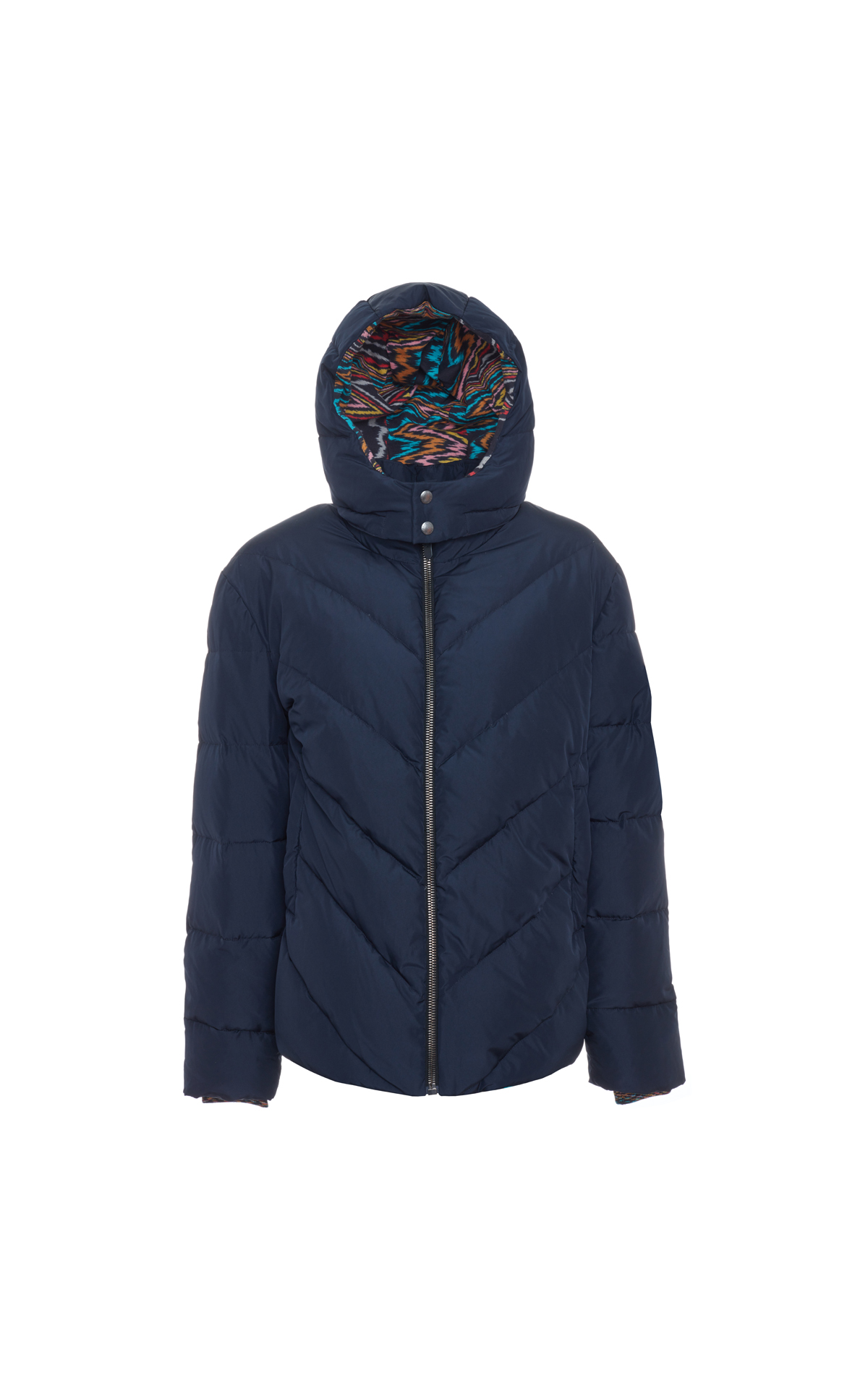 Missoni Down jacket blue from Bicester Village
