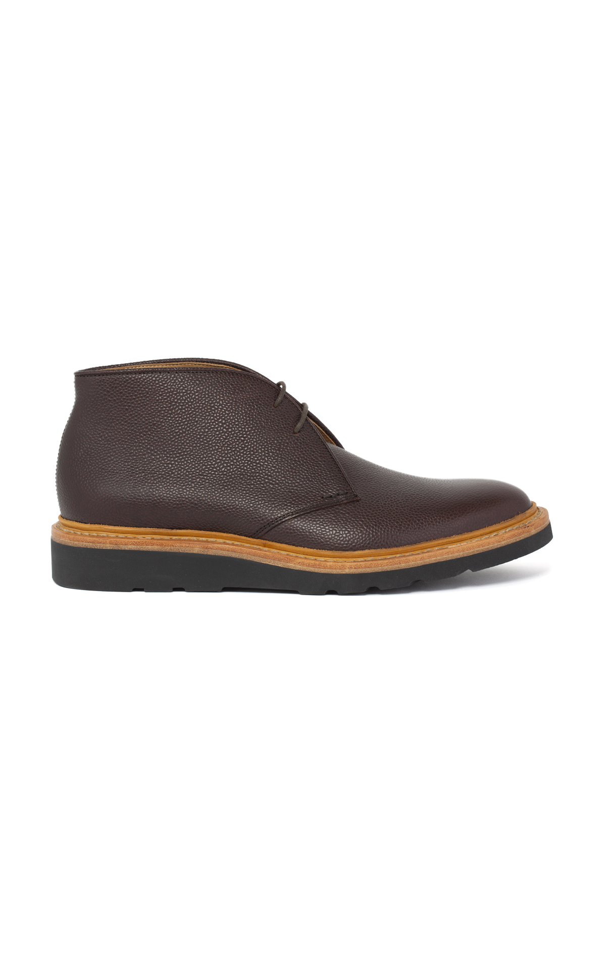 Heschung Brown leather derbies
