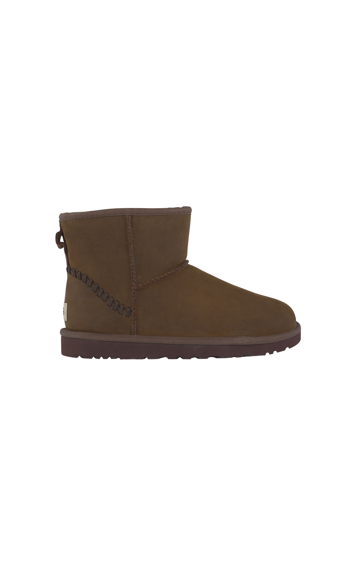 Brown ankle boot man UGG