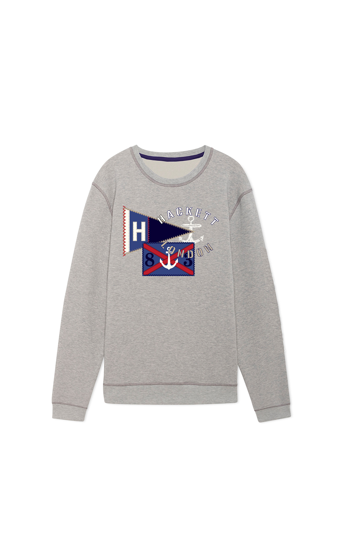 Hackett Children Flag Sweatshirt at The Bicester Village Shopping Collection
