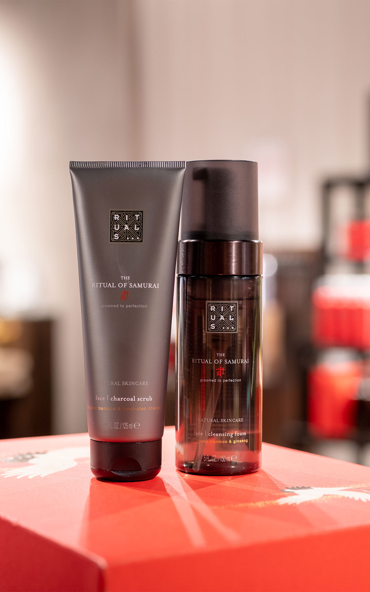 Rituals Ritual of Samurai face scrub & cleansing foam from Bicester Village