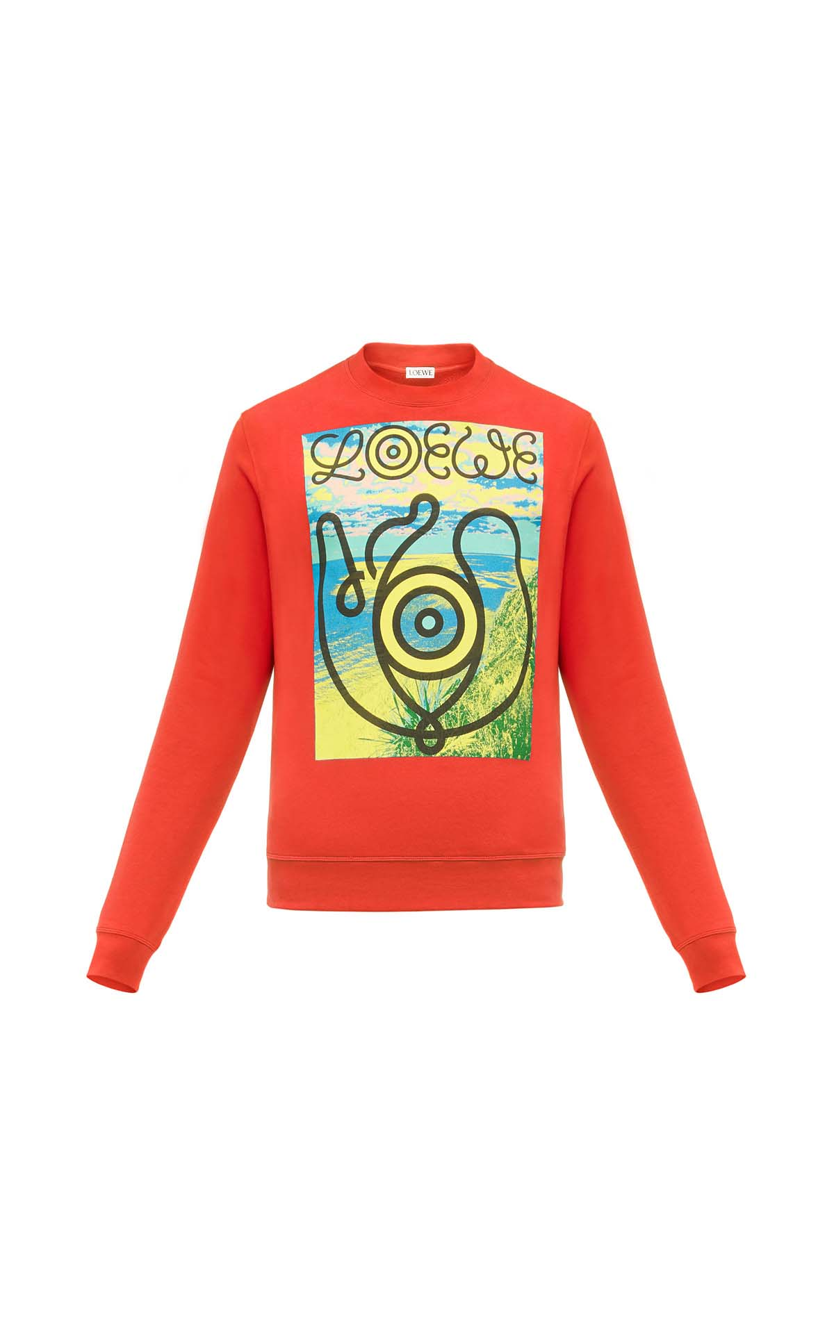 Loewe eye sweatshirt at The Bicester Village Shopping Collection