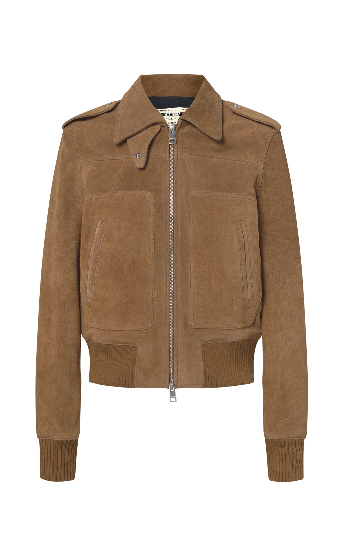 Brown velvet jacket for man Zadig&Voltaire