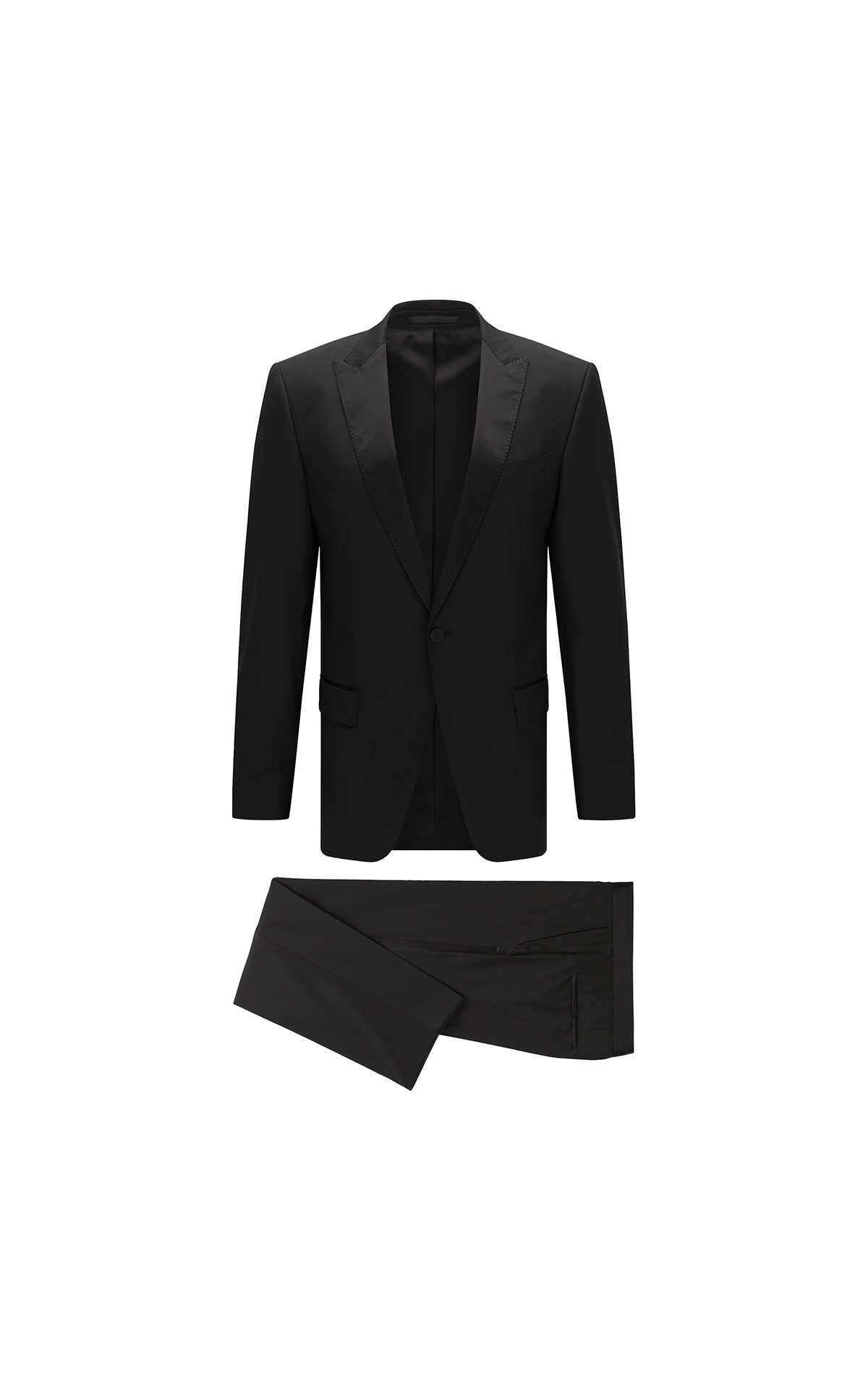 BOSS Men's slim-fit tuxedo at The Bicester Village Shopping Collection