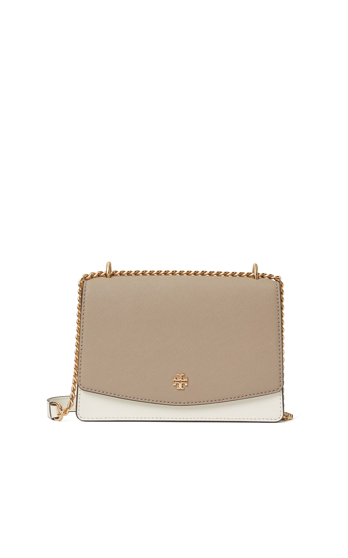 Tory Burch Emerson colour-block mini shoulder bag from Bicester Village