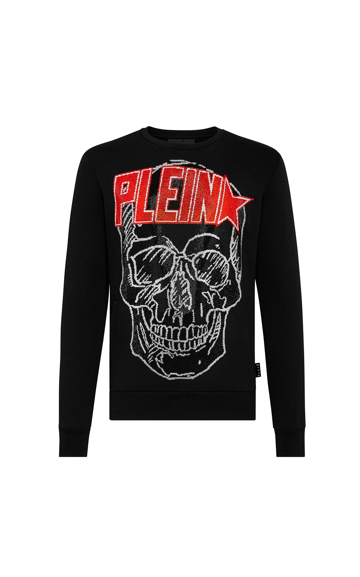 Black sweatshirt Philipp Plein