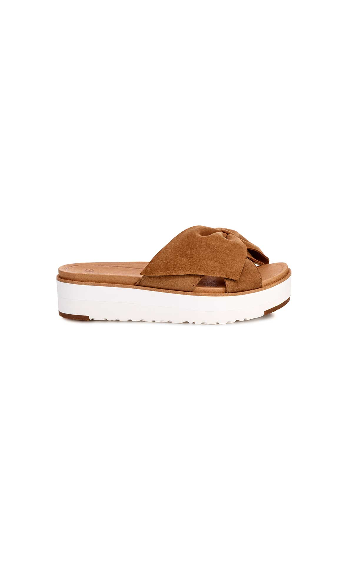 Brown sandal with platform UGG