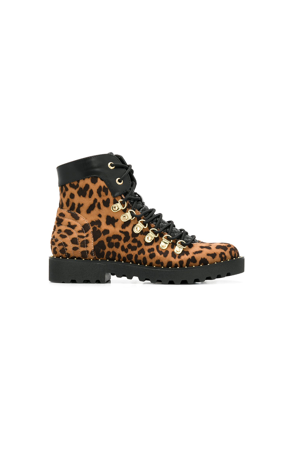 Animal print ankle boots TWINSET