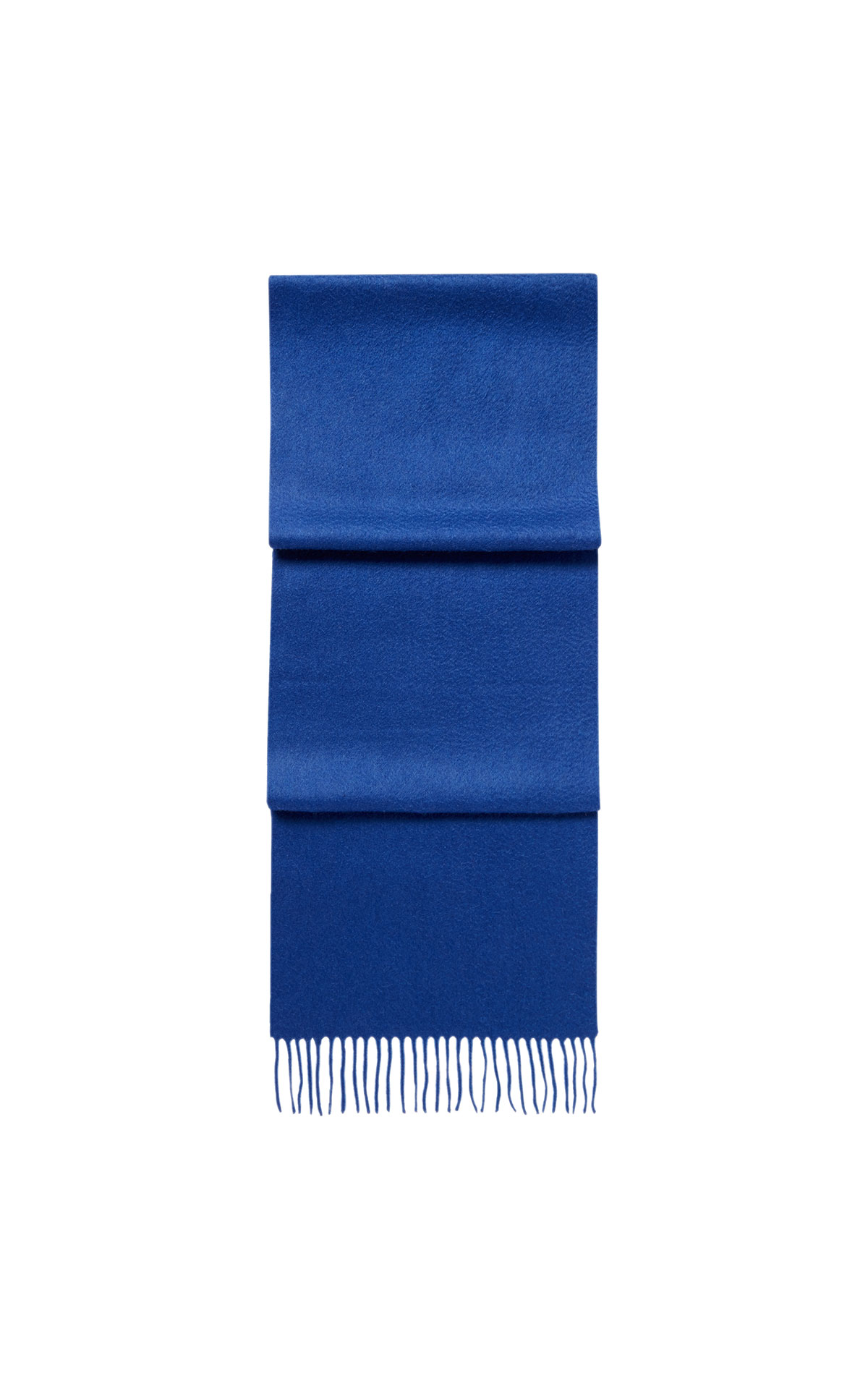 N.Peal Woven scarf blue from Bicester Village