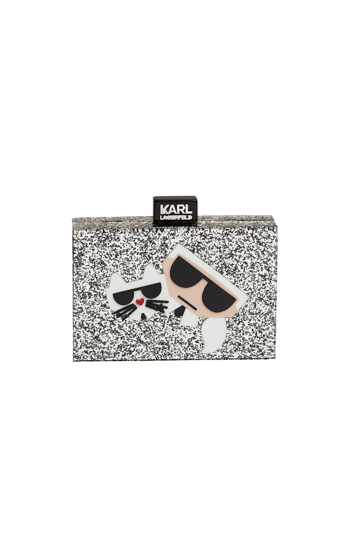 Karl Lagerfeld kocktail karl & choupette minaudiere at The Bicester Village Shopping Collection