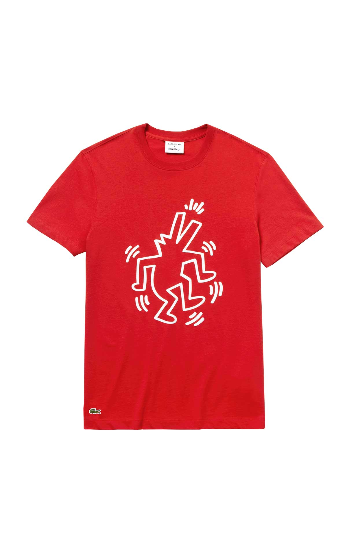 Red cotton T-shirt for man Lacoste
