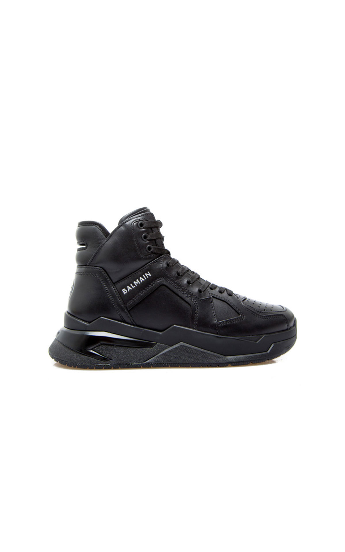 Balmain B-Ball black sneaker from Bicester Village