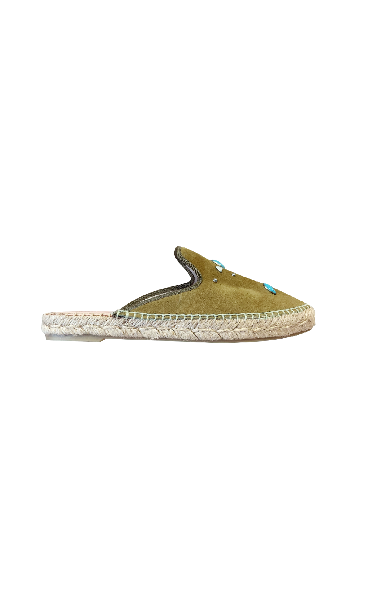 Green espadrilles Pretty Ballerinas