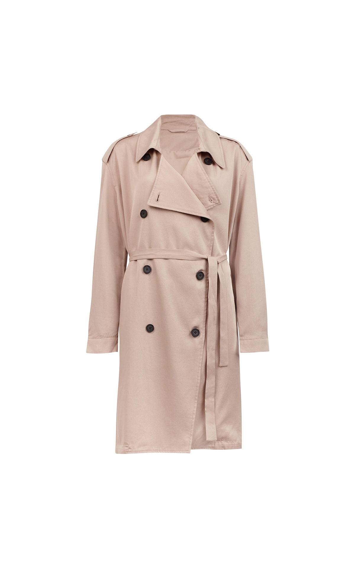 AllSaints Lia mac quarts pink from Bicester Village