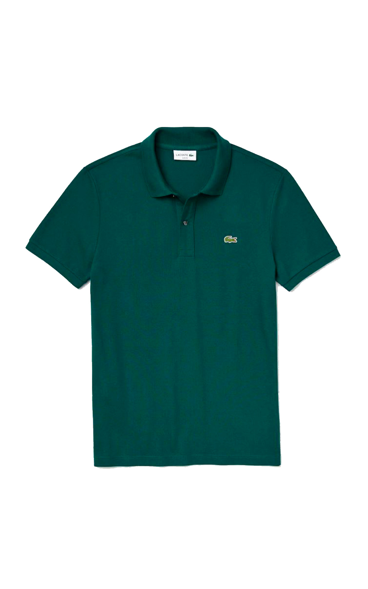 Green polo shirt Lacoste
