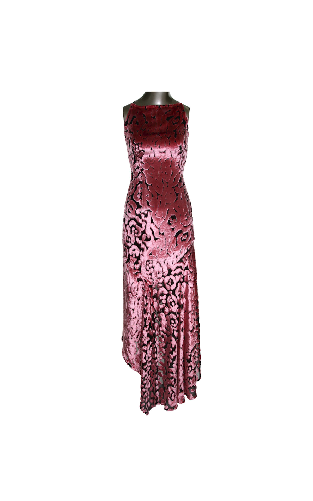 Escada Pink long dress from Bicester Village