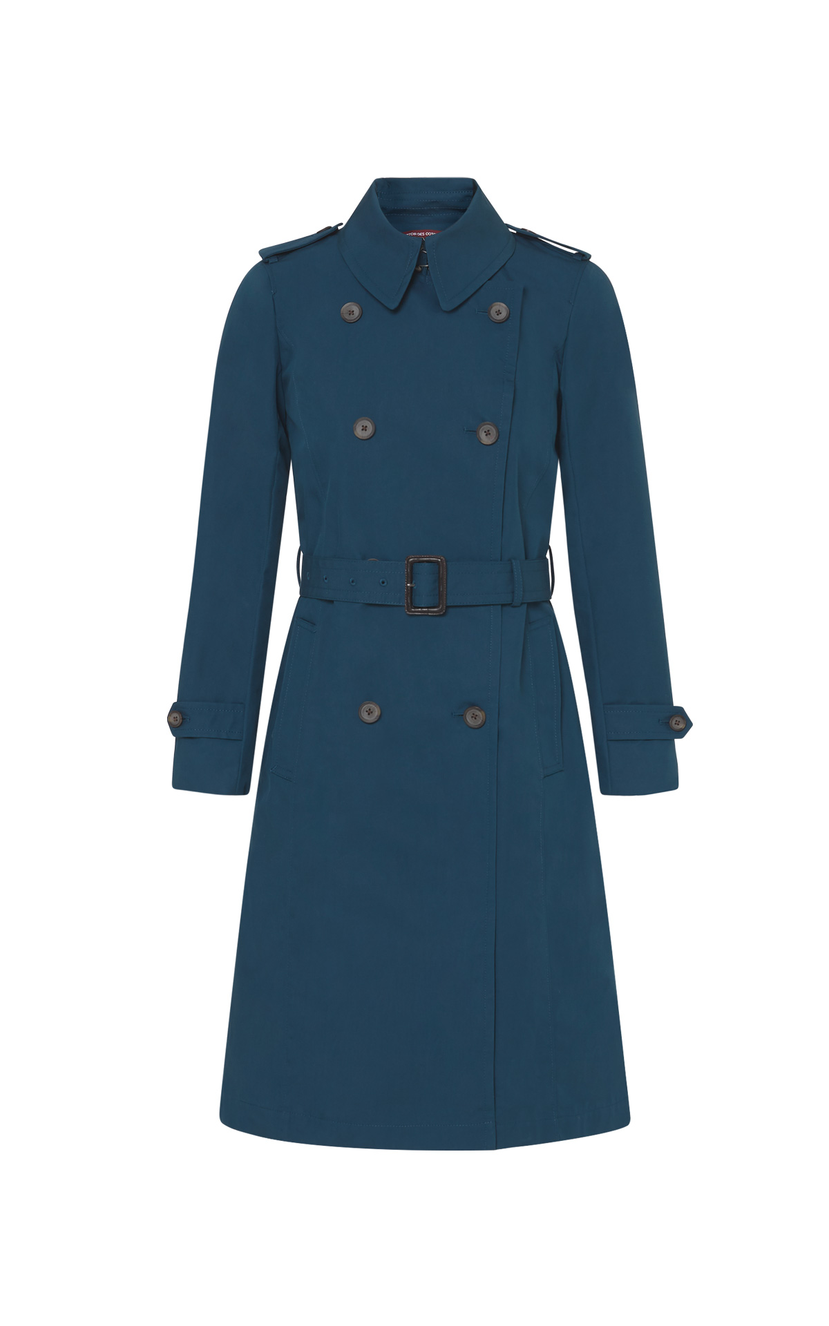Dark blue trench jacket women Comptoir des Cotonniers