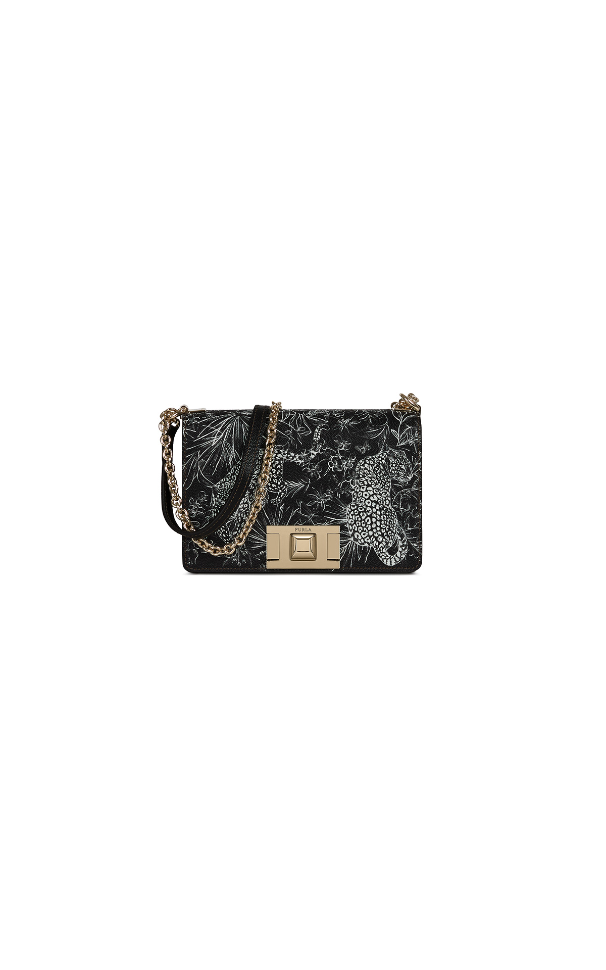 Furla Mimi Mini Crossbody Nero at The Bicester Village Shopping Collection