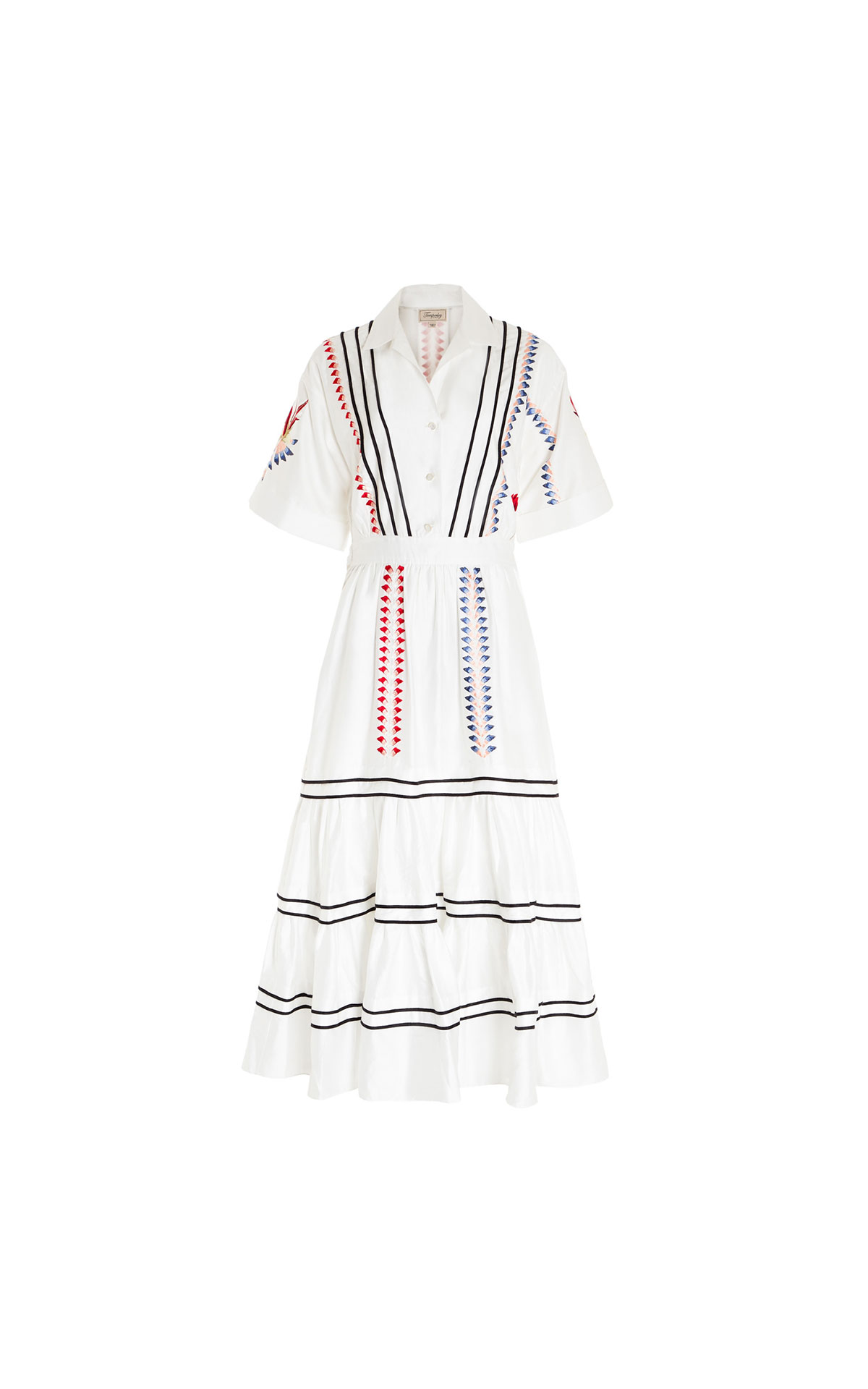Temperley London Cherry blossom dress from Bicester Village