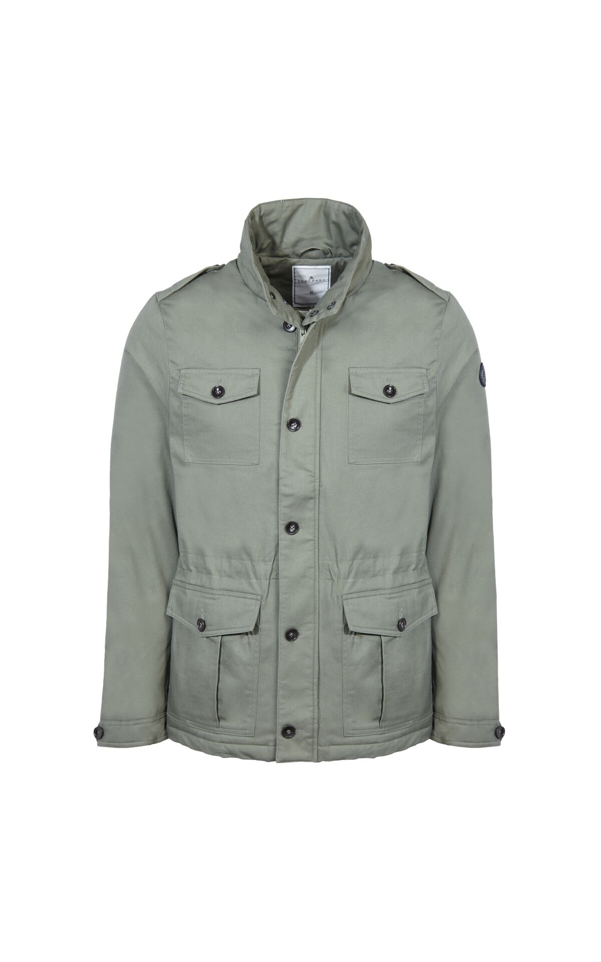 Grey parka man Scalpers